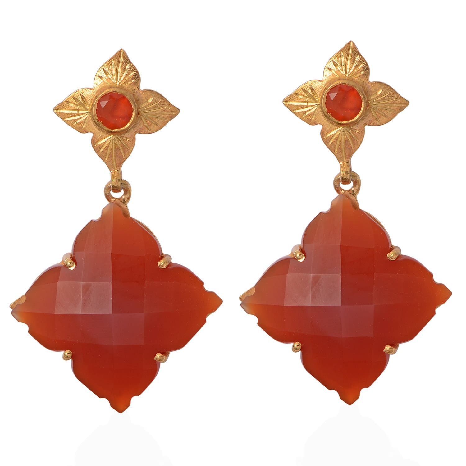 wire product earring wrapped sharon earrings banded burnett wm carnelian