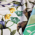 Silk Scarf In Green With Rainforest Story image