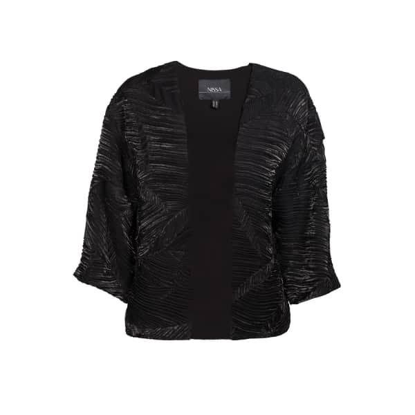 NISSA Loose Jacket With 3/4 Sleeves