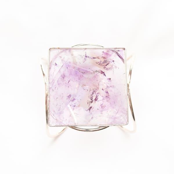 Zara Amethyst Bracelet, Silver
