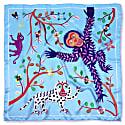 Abomey Maya Silk Scarf image