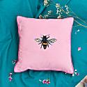 Velvet Cushion Cover - The Bee image