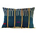 African Baule Fabric Cushion image