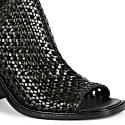 Bella Woven Heel - Black image