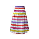 Lilac Mexico Midi Skirt image
