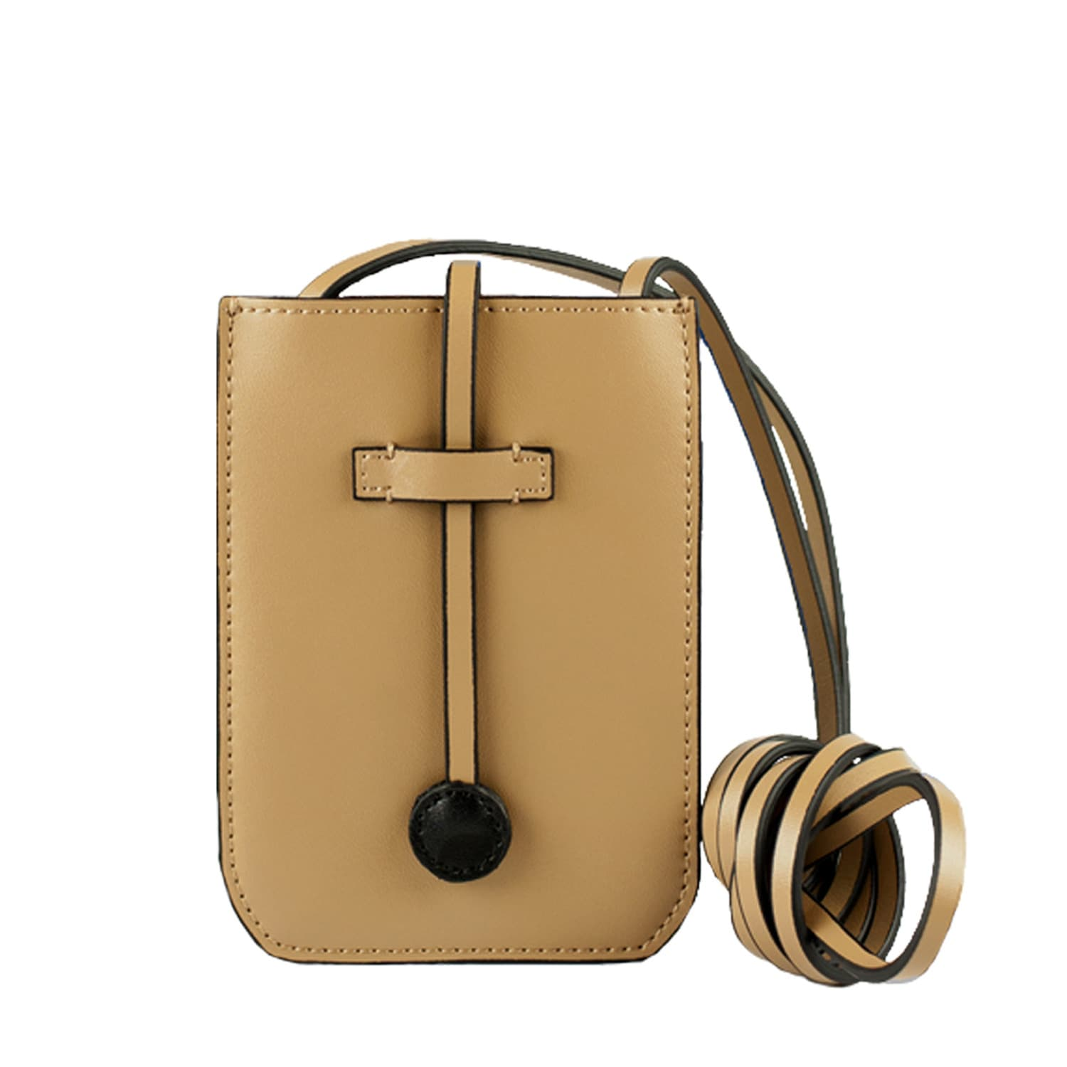 a96d0f71f066 Cambridge Leather Phone Crossbody Bag Taupe image