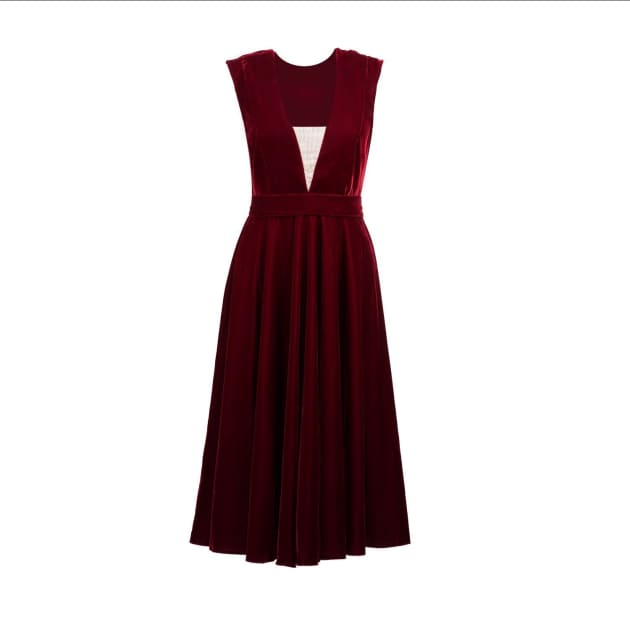 7ee84ba76588 Women's Velvet Dresses By Independent Designers