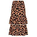 Ikat Midi Frill Skirt image