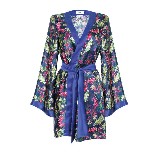 5040f5f90 We have multicolour dressing gown lingerie   nightwear to cater for  everyone. From pretty lace bras and bralettes in soft silk fabrics paired  with knickers ...