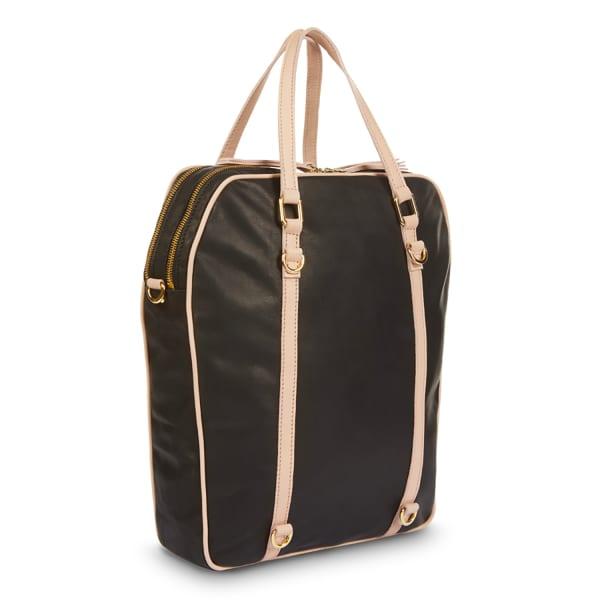 NINE TO FIVE Back Bag Senefeld Black Rose