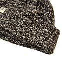 Charcoal Melange Wool & Cashmere Fisherman Beanie image