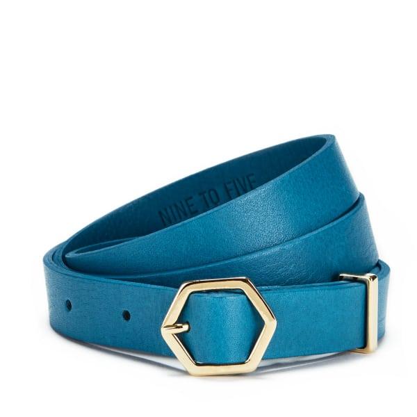 NINE TO FIVE Crystal Belt Havel Electric Blue