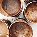 Jawa Wooden Bowl With Chopsticks Set of 2 - Small image