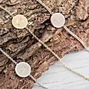 Westbourne 9Ct Rose Gold Initial Disc Bracelet image