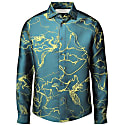 Abstract Vine Formal Shirt Green image