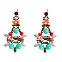 Earrings Shine Like A Star Green image