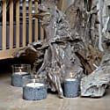 Santuario Candle Set Volcanic Stone image