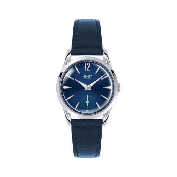 HENRY LONDON Ladies 30Mm Knightsbridge Leather Watch