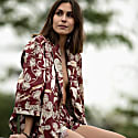 Safari Robe in Protea Red image