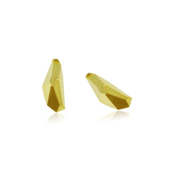 KAROLINA BIK JEWELLERY Geometry Earrings Gold