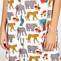Jungle Print Slip Dress image