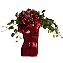 Female Torso Vase Met Red image