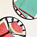 Watermelon Linen Napkins, Set Of 4 image