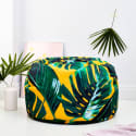 Bright Palm Leaves Adult Bean Bag image