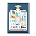 The Gin Guide A2 Print image