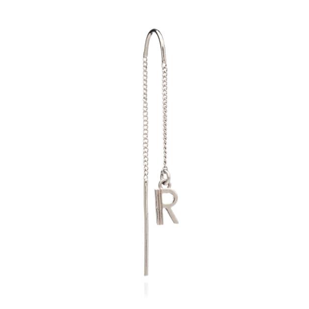 245467970 Women's Designer Initial & Alphabet Earrings