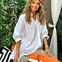 Oversize White Venice Shirt image