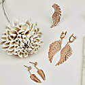 Gabriel Angel Wing Ear Climber Rosegold image