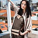 Belt Bag Orange & Beige image