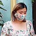 Tencel Reusable Face Masks Pack Of 3 - Pink image