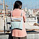 Backpack Light Blue & Pink image