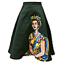 Queen Printed Round Skirt image
