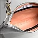 Companion Max Leather Crossbody Clutch In Cream image