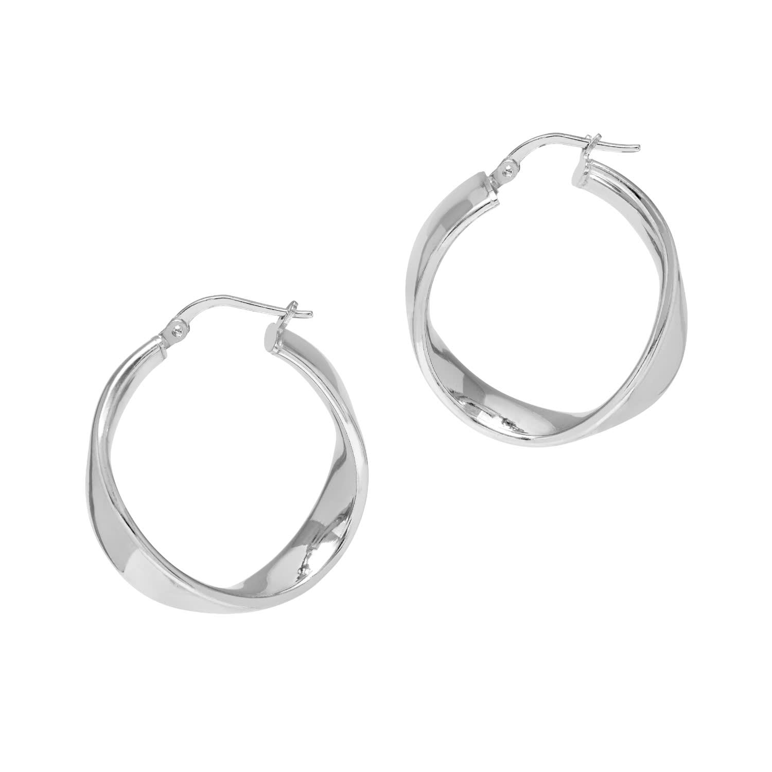 5d07c91fc La Wave Cuff Silver | THE HOOP STATION | Wolf & Badger