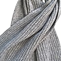 Cashmere Scarf Verbier In Light Grey image
