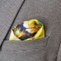 Tender Love Like Water - Men's Pocket Square Limited Edition image