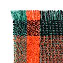 Thinking Red 100% Merino Wool Handwoven Throw image