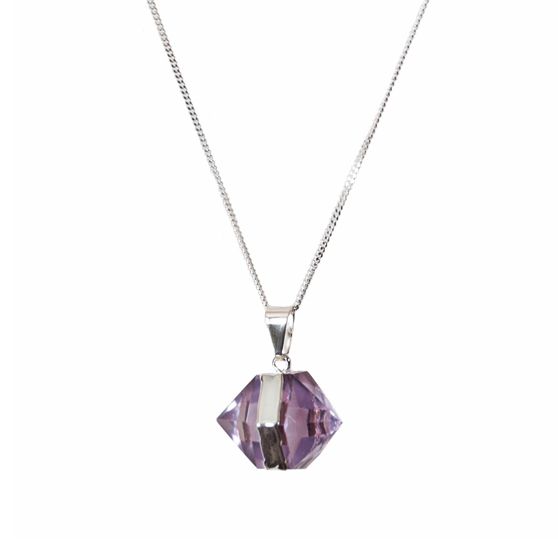 fbdfd9ab4 Goddess Silver Amethyst Mini Necklace Siena Collection | Tiana Jewel ...