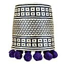 Pepita Lampshade Purple image