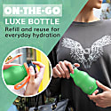 350Ml Pickle Stainless Steel Curvy Bottle - New Classic Sports Cap image