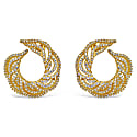 Gold-Plated Silver Hussar Earrings image
