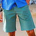 Turtle Bermuda Shorts In Green image