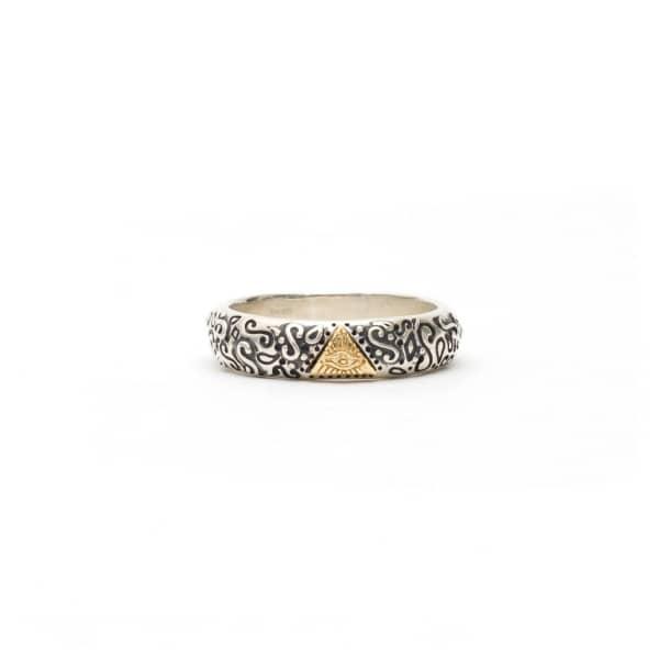 SERGE DENIMES Aztec Ring