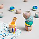 Blobs Concrete Egg Cup image