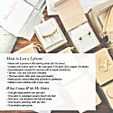 Melting White Pearl 18K Rose Gold Vermeil Earrings image