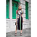 Gisela Dress Drip Paint image